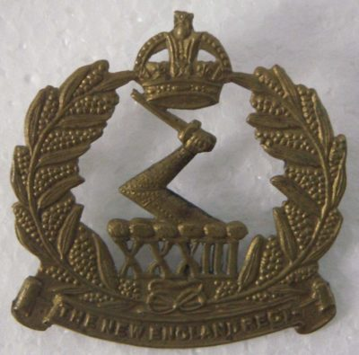 Знак на шляпу военнослужащих 33-го пехотного батальона.