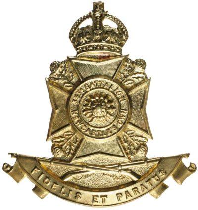 Знак на шляпу военнослужащих 35-го пехотного батальона.