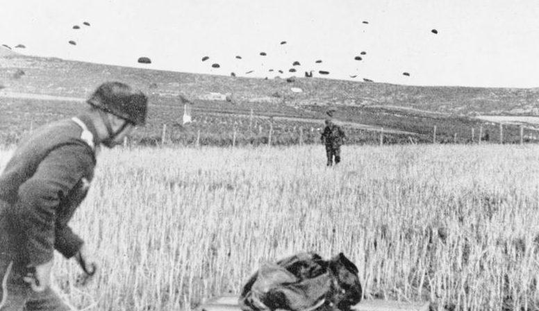 Выброска немецкого десанта на Крит. Май, 1941 г.