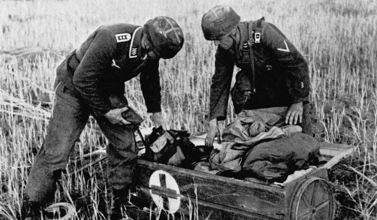 Контейнер десантников. Крит. Май, 1941 г.