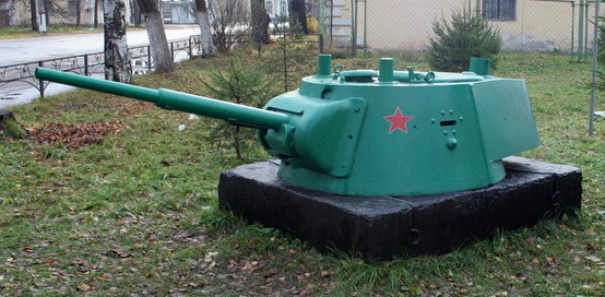 Башня танка БТ-7.