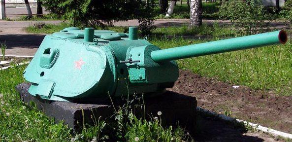 Башня танка Т-34.
