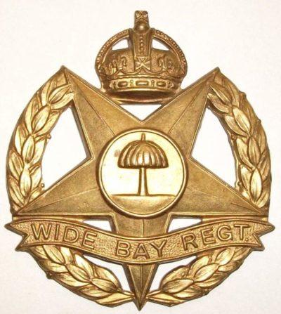 Знак на шляпу военнослужащих 47-го пехотного батальона.
