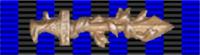 Лента к орденской колодке с «римским мечем».