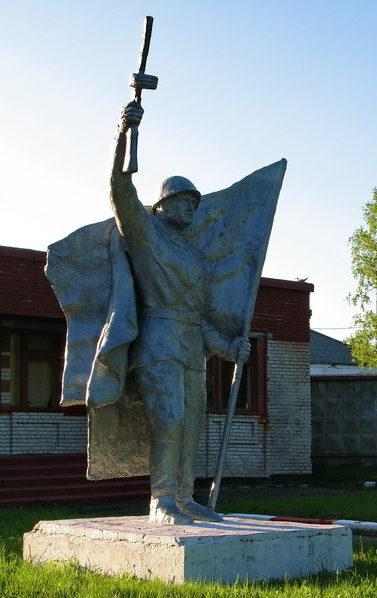 д. Елизаветинка Всеволожского р-на. Памятник участникам войны.