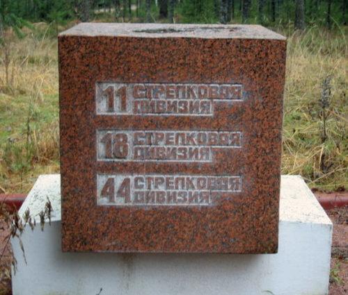Памятные знаки воинским частям.