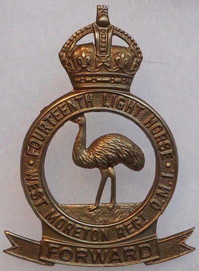 Знак на шляпу военнослужащих 2-го полка легкой кавалерии.