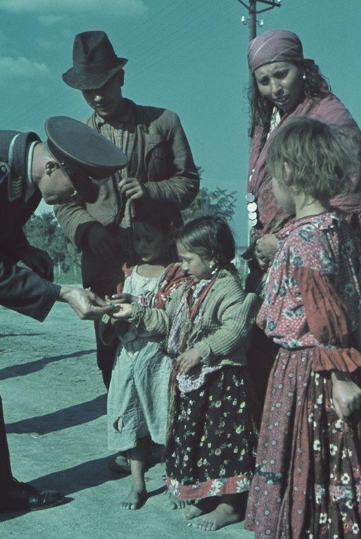 Немцы на Крите. Весна 1941 г.