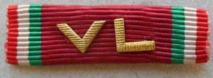 Аверс и реверс Почетного знака «Добровольцы свободы».