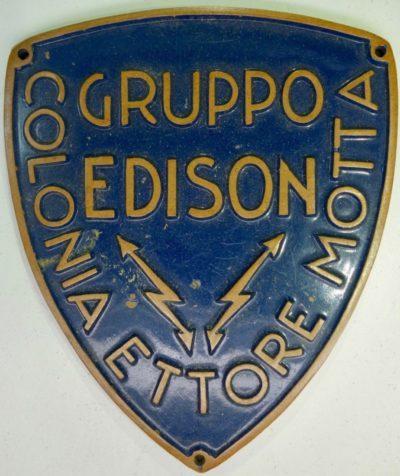 Аверс и реверс нарукавного щита группы «Едисон».