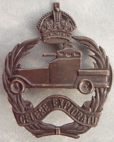 Знак на шляпу военнослужащих 1-го танкового полка.