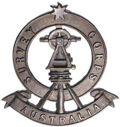 Знак на шляпу военнослужащих Королевского картографического корпуса.