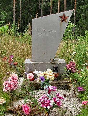 п. Свердлово Выборгского р-на. Могила неизвестного солдата.