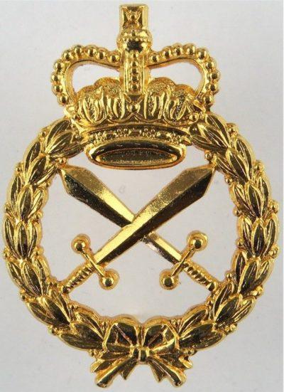 Знак на шляпу военнослужащих корпуса военной полиции.