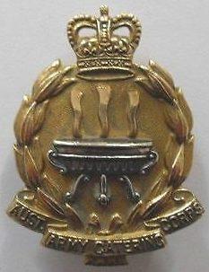 Знак на шляпу военнослужащих корпуса общественного питания армии.