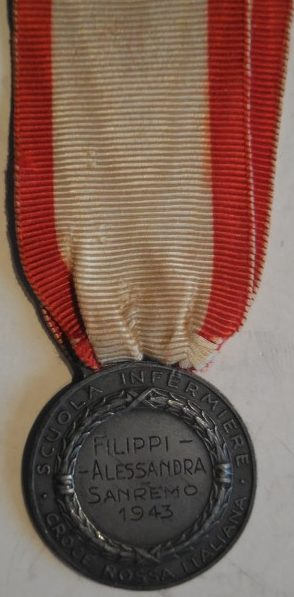 Медаль Красного Креста «За заслуги гражданского медперсонала».