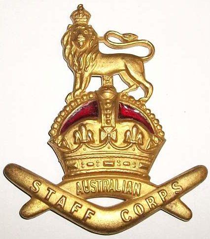 Знак для шляпы офицеров штаба.