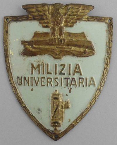 Нарукавные щиты Военного университета.