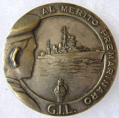 Аверс и реверс памятного знака курсов GIL.