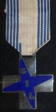 Аверс Синего креста заслуг GIL.