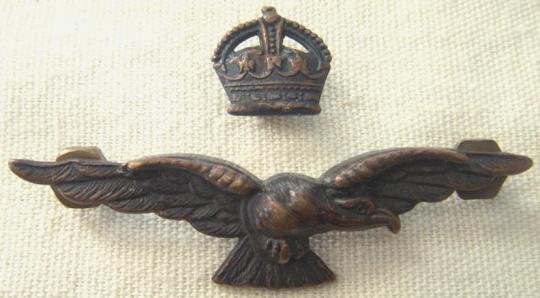 Бронзовый знак офицера RAAF.