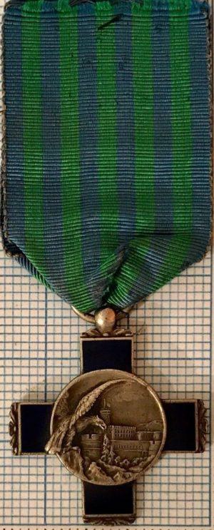 Аверс и реверс памятного креста 7-й армии.