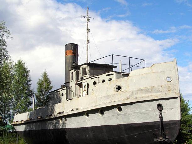 Буксирный пароход Ижорец №8.