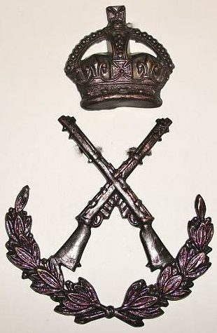 Знак лучшего стрелка среди прапорщиков в батальоне.