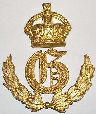 Знак наводчика орудия 1-го класса.