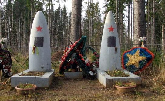 д. Сарженка Всеволожского р-на. Братские могилы советских воинов.