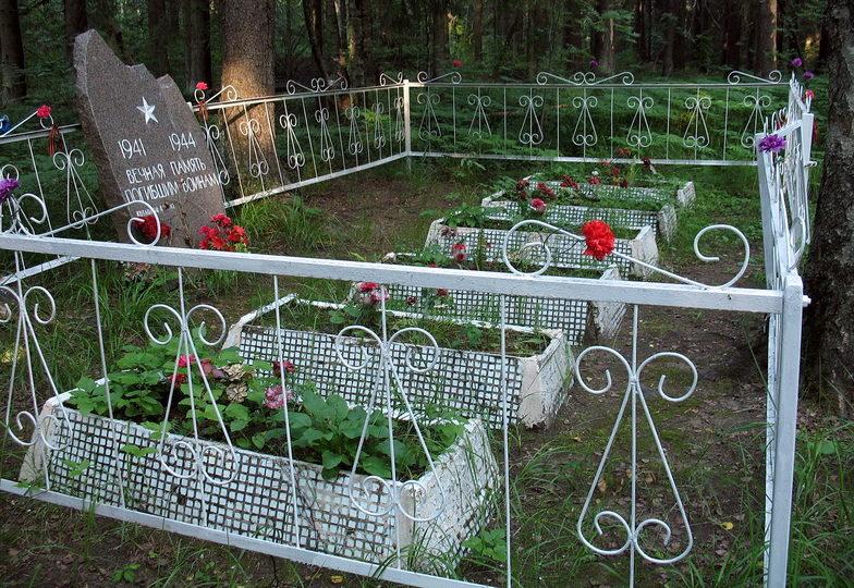 г. Сертолово Всеволожского р-на. Братская могила советских воинов.