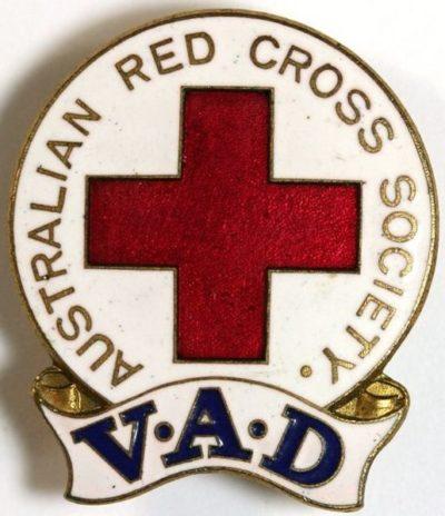 Знаки Австралийского Красного Креста.