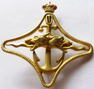 Золотой знак «За боевой поход». Королевство.