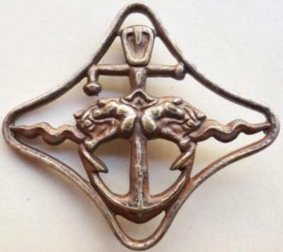 Серебряный знак «За боевой поход». Республика.