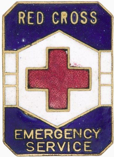 Знак аварийной службы Красного Креста.