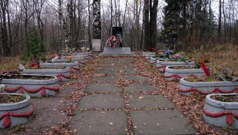 д. Юкки, Всеволожского р-на. Братская могила советских воинов.