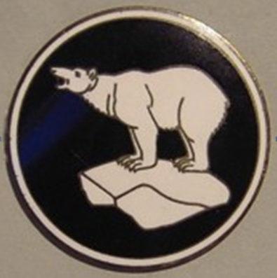 Знак офицеров связи 49-й пехотной дивизии.