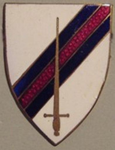 Знак офицеров связи 6-й танковой бригады.