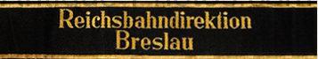 Манжетные ленты Немецких имперских железных дорог.