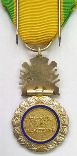 Аверс и реверс Военной медали.