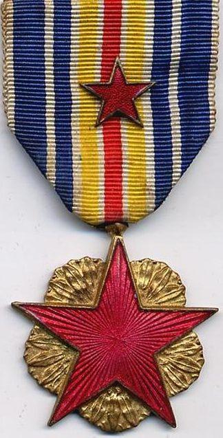 Официально утвержденные два варианта медали раненных на войне.