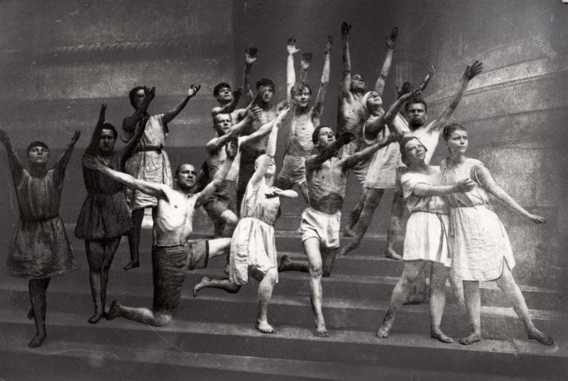 Театральная постановка общества «Долой стыд». 1925 г.