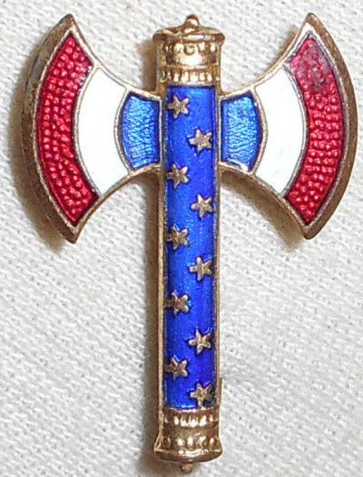 Аверс и реверс знака маршала Франции Главы французского государства.