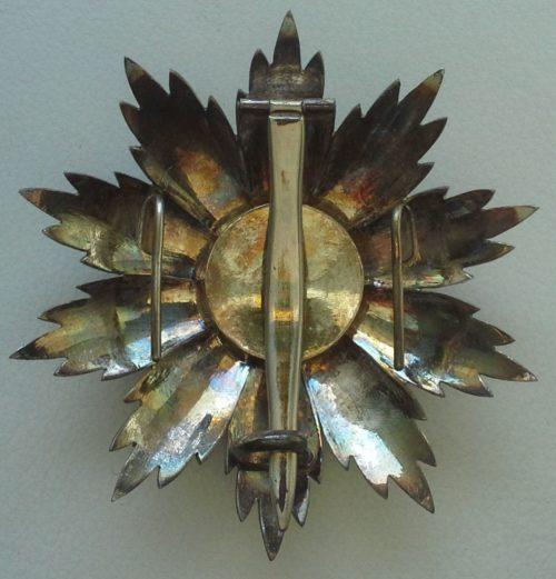 Аверс и реверс звезды степени Большой крест.