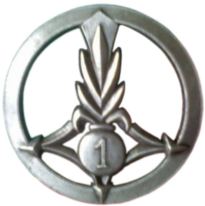 Знак 1-го гренадерского эскадрона.