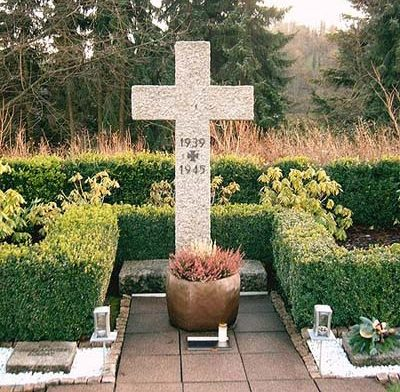г. Вайнгартен. Памятник немецким воинам, погибшим во Второй мировой войне.