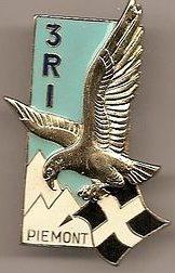 Знак 3-го пехотного полка.