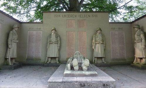 г. Вальдкирх. Памятник жертвам обеих мировых войн.