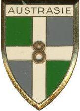 Знаки 8-го пехотного полка.