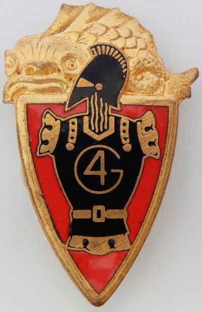 Знаки 4-го инженерного полка.